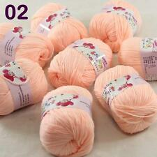 Sale lot 8 Skeins x50g Cashmere Silk Wool Children hand knitting Crochet Yarn 02