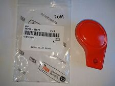 New OEM KIOTI T5210-65671 Orange Rubber Handle Throttle Grip - on CS2410 tractor