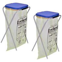 2x Müllsackständer f. 1 Müllbeutel Mülltonne Müllsackhalter Müllsack Müllständer
