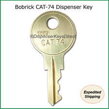 Keys for Bobrick Paper Dispensers - (and other Bobrick Products) - Cat 74 Key