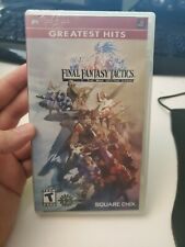 Final Fantasy Tactics: The War of the Lions - Sony PSP Greatest Hits New Sealed