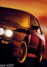 BMW E30 M3 1989 DTM BMW M- Motorsport Art Promo large poster #2