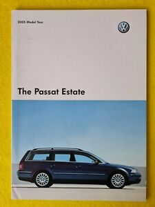 Volkswagen Passat Estate S SE Highline W8 V6 brochure catalogue 2004 MINT VW B