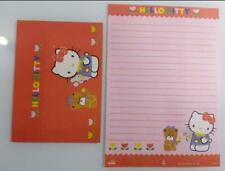 Brasilian Letter Papers Hello Kitty with envelope Vintage Stationary portugues