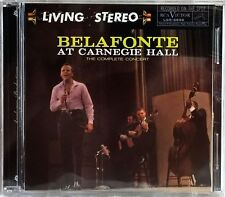 HARRY BELAFONTE AT CARNEGIE HALL SACD + CD ANALOGUE PRODUCTIONS SEALED