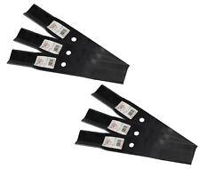 "Rotary® 3441 6 Mower Blades for Toro® 54001003 Windsor® 511725 44"" Deck"