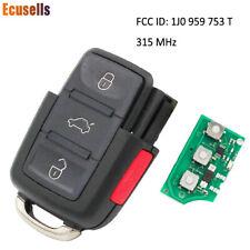 3B+PANIC 315MHZ Remote Key 1J0 959 753 T For 1999-2001 VW PASSAT GOLF BEETLE