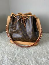 Louis Vuitton Petit Noe NM Monogram Bucket Shoulder handbag Purse