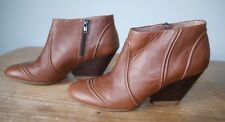 Camper tan leather ankle boots- UK 6