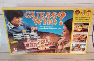 Original VTG 1982 Guess Who? SEALED Board Game Collectible Funny Face Guessing
