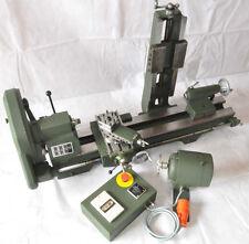 Emco Maximat Standard / Drehmaschine / Fräs-, Schleif-, Bohr-, Schlitzanbaugerät