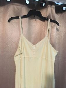Victorias Secret Country Cotton  Teddy Babydoll  Nightie Lingerie Size Large