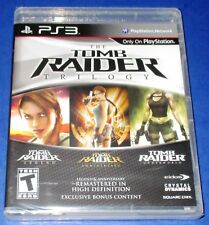 Tomb Raider: Trilogy Sony PlayStation 3 *New! *Factory Sealed! *Free Shipping!