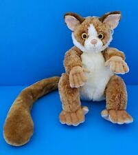 Animal Alley Brown Lemur Mouse Beanbag Plush Toys R Us *RARE!*