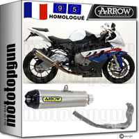 ARROW LIGNE COMPLETE CAT APPROUVE WORKS CARBY TITANIUM BMW S 1000 RR 2014 14