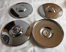 VW BUG Wheel Hub Cap Center Cover 4pcs 4holes Chromed VOLKSWAGEN BEETLE T2 GUIA