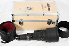 Nikon Nikkor ED 600mm f/4 AIS with case Excellent condition