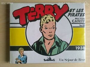 Terry And The Pirates Milton Characters Vol. 6 1938 Cube 1989