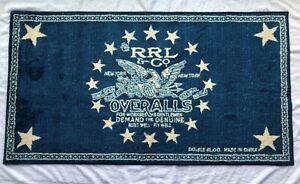 "Genuine Double RL ""American Eagle & Stars Overalls"" Floor Mats Rugs Carpets"