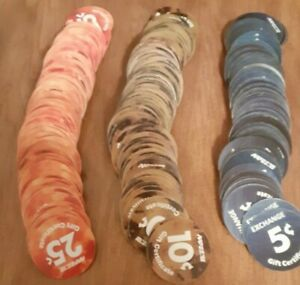Lot of Over 150 different  AAFES 1st. - 15th Pogs in Fine to A.U. condtion