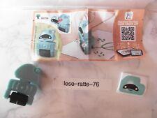 Ü-Ei / 2018 / Roboter auf Rollen / Roboter blau , Stift grün  EN 225A + BPZ