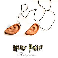 Harry Potter Accessori Doni della Morte Orecchie Oblunghe By Florartigianato