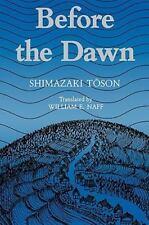 Shimazaki: Before the Dawn Paper: By Toson Shimazaki