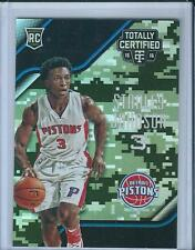 2015-16 Totally Certified Mirror Camo Rookie Stanley Johnson /25 Detroit Pistons