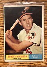 1961 Topps Brooks Robinson Baltimore Orioles #10 Baseball Card HOFER