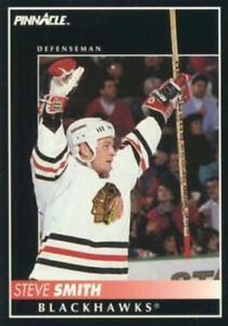#57 Steve Smith - Chicago Blackhawks - 1992-93 Pinnacle Canadian Hockey