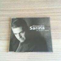Alessandro Safina - Del Perduto Amore - CD Single PROMO - 2002 BMG
