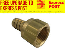 "Derale Swivel Hose & Barb Fitting -10AN Female With 1/2"" Hose Barb"