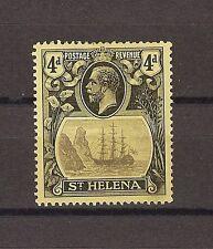 """ST HELENA 1922 SG 92B """"Torn Flag"""" Fine Mint Cat £275"""