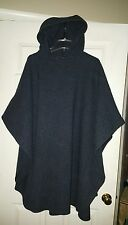 Coloratura of Boston Tweed Cape PERFECT condition Wool One size fits all hooded
