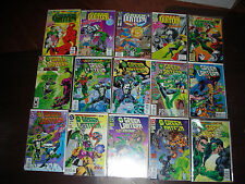 GREEN LANTERN & RELATED 44 book lot