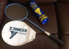 Carlton 4.3 Badminton Racket With Cover & 5 Carlton Tournament T800 Shuttlecocks