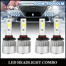 For Chevy Silverado Tahoe 1999-2006 Hi/Lo Beam 9005 9006 Combo LED Headlight Kit