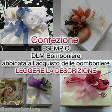 Confezione per bomboniere -abbinato all'acquisto di bomboniere DLM Bomboniere-