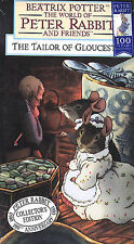 THE TAILOR OF GLOUCESTER (VHS, 2001) BEATRIX POTTER THE WORLD OF PETER RABBIT
