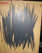Quadrum 2. Revue Internationale d'Art Moderne semestrielle, 1956