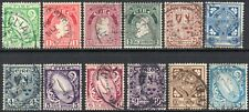 More details for 1922-34 ireland sg 71/82 definitive set of 10 values fine used
