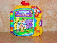 fisher price puppy's animal friends musical story book toy
