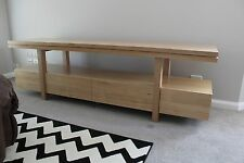 local made tassie oak hardwood timber Jordan+ lowline tv/entertainment unit