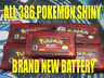 POKEMON RUBY All 386 SHINY GAME UNLOCKED AUTHENTIC & NEW BATTERY!
