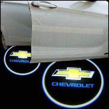 2x CHEVROLET LED Logo Light Ghost Shadow Projector Car Door Laser for CHEVROLET