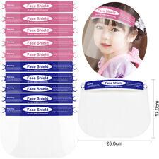 Small Kids Boys Girls School Kindergarten Protective Face Shield Safety Headwear