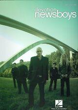 Newsboys Devotion sheet music songbook Christian