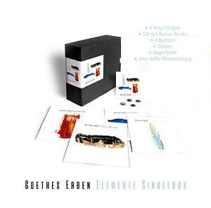"GOETHES ERBEN Elemente - 4 x 7"" / Vinyl (2021) BOX"