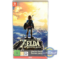 1 BOX PROTECTOR for Zelda Breath of The Wild Limited Edition 0.5mm Switch Game