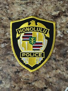 Honolulu Police Cop Patch